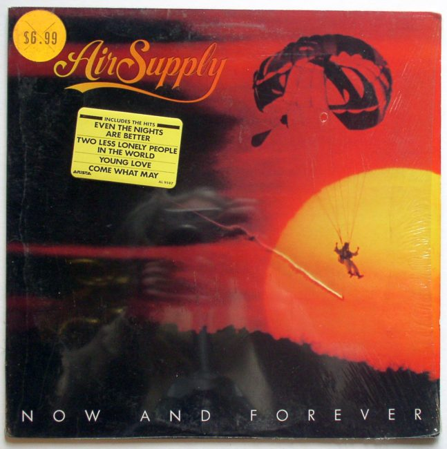 Air Supply Now And Forever LP 1