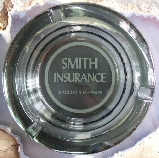 Smith Insurance Ash Tray